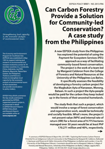 empowering reforestation in the philippines Non-government reforestation in the philippines: review, analysis and ways  forward danilo c israel  fao empowering the secretary of agriculture.