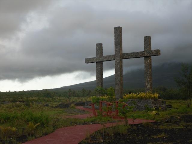 Legazpi cross