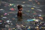Plastic Waste at Manila Bay BeachesPlastikmuell am Strand der Manila-Bucht