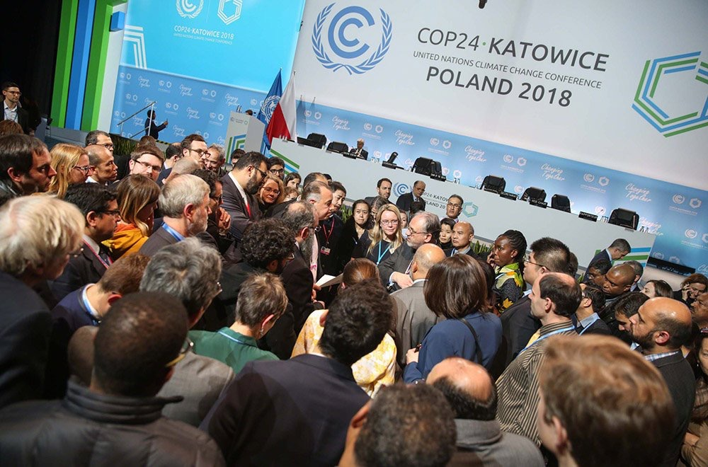 Governments from 196 nations gathered in Katowice, Poland to mahher out rules and guidelines on the implementation of the Paris Agreement on climate change.