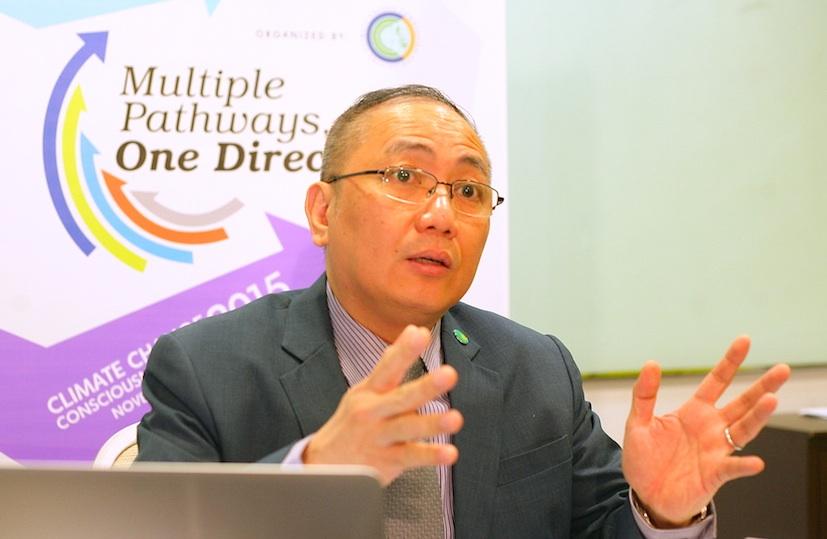 Secretary Emmanuel De Guzman,  Climate Change Commission Vice Chair. credit PNEJ