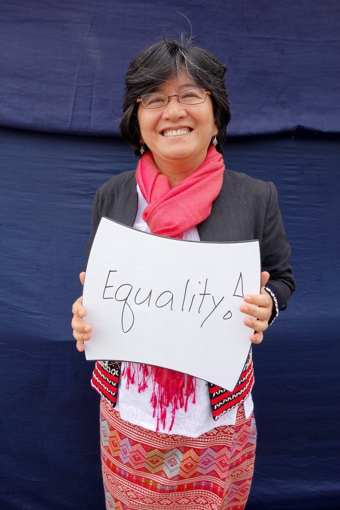 Joan Carling is a recipient of the UNEP's Champions of the Earth Award for promoting the environment and the causes of indigenous peoples. / supplied by Ms Joan Carling
