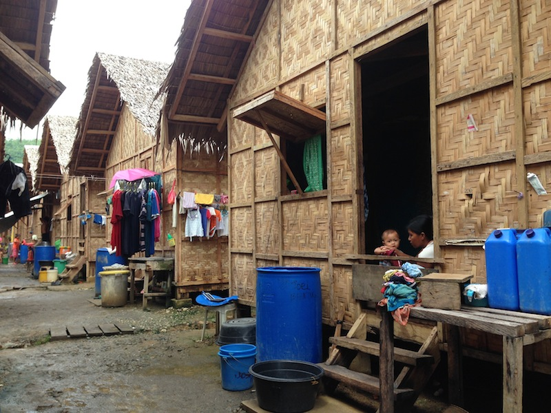 A relocation area in Tacloban City, one of the places hit hardest by Typhoon Haiyan in 2013 / Credit: Imelda Abano
