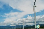 HARNESSING THE WIND. The Bangui Windmill in Ilocos Norte, a feat for tapping alternative and renewable energy.