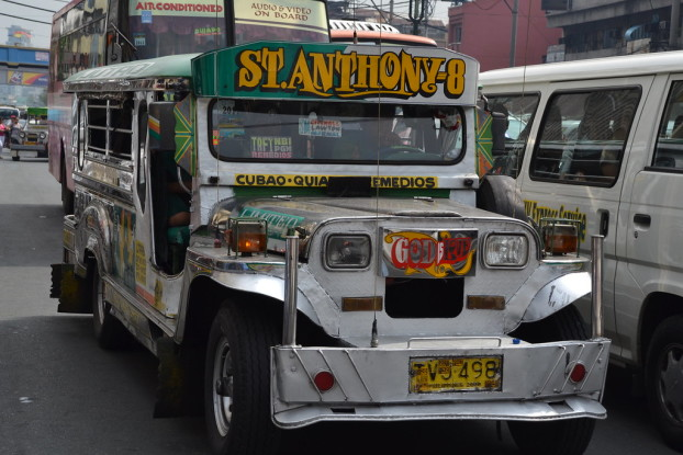 jeepney at Quiapo district, Manila by Flickr